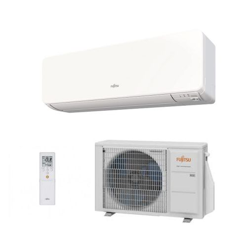 Fujitsu Air conditioning ASYG14KGTA Wall Mount A+++ R32 4Kw/14000Btu Install Pack